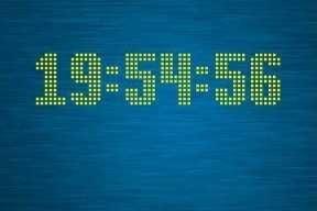 Blue Lagoon Clock v1.00 Nokia S60v5 S^3