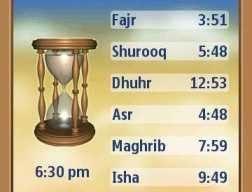 Prayer Times – Islamic v1.02 Nokia S60v5 S^3