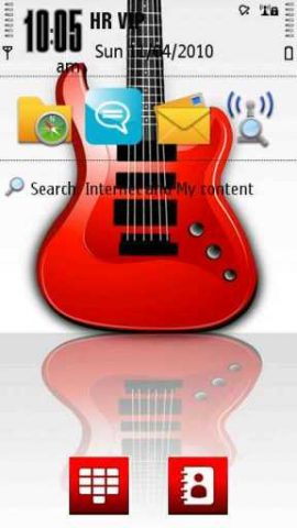 RockOn Rock On Guitar Theme Nokia S60v5 S^3