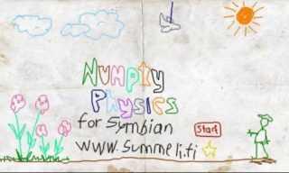 Numpty Physics v0.02 Nokia S60v5, Symbian^3