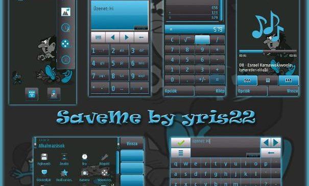 Save Me Theme Nokia S60v5 S^3
