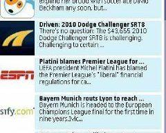 Soccer News Nokia S60v5 S^3