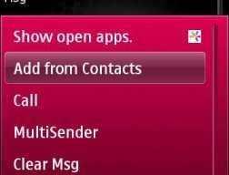 Way 2 SMS v1.00 For Nokia S60v5 S^3