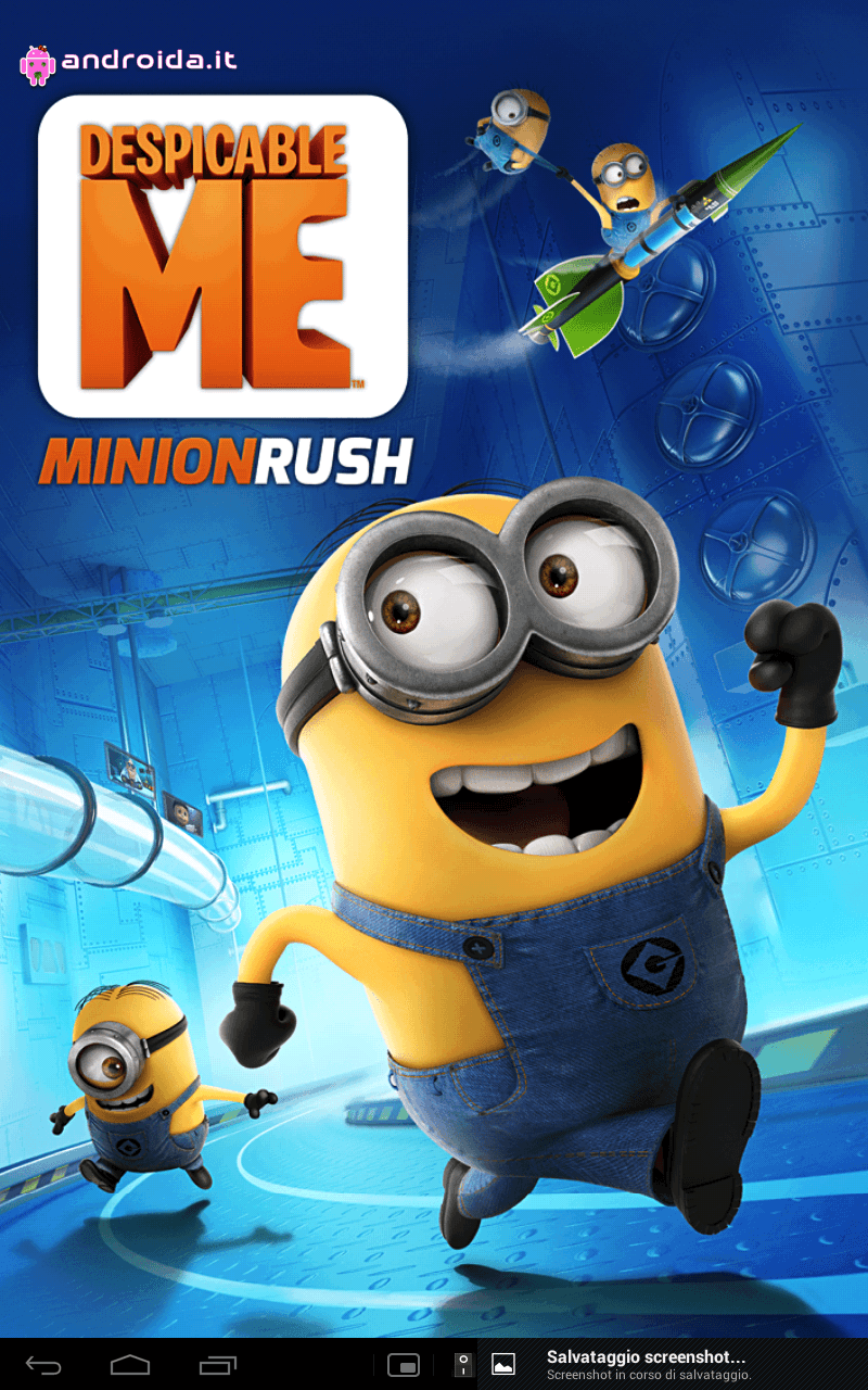 Gameloft Android game Despicable Me in