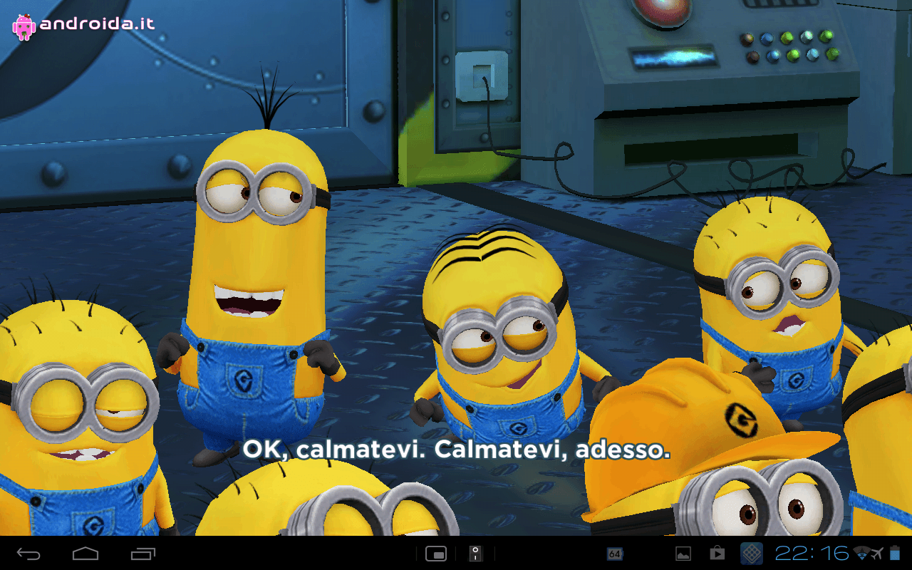 Gameloft Android game Despicable Me 4