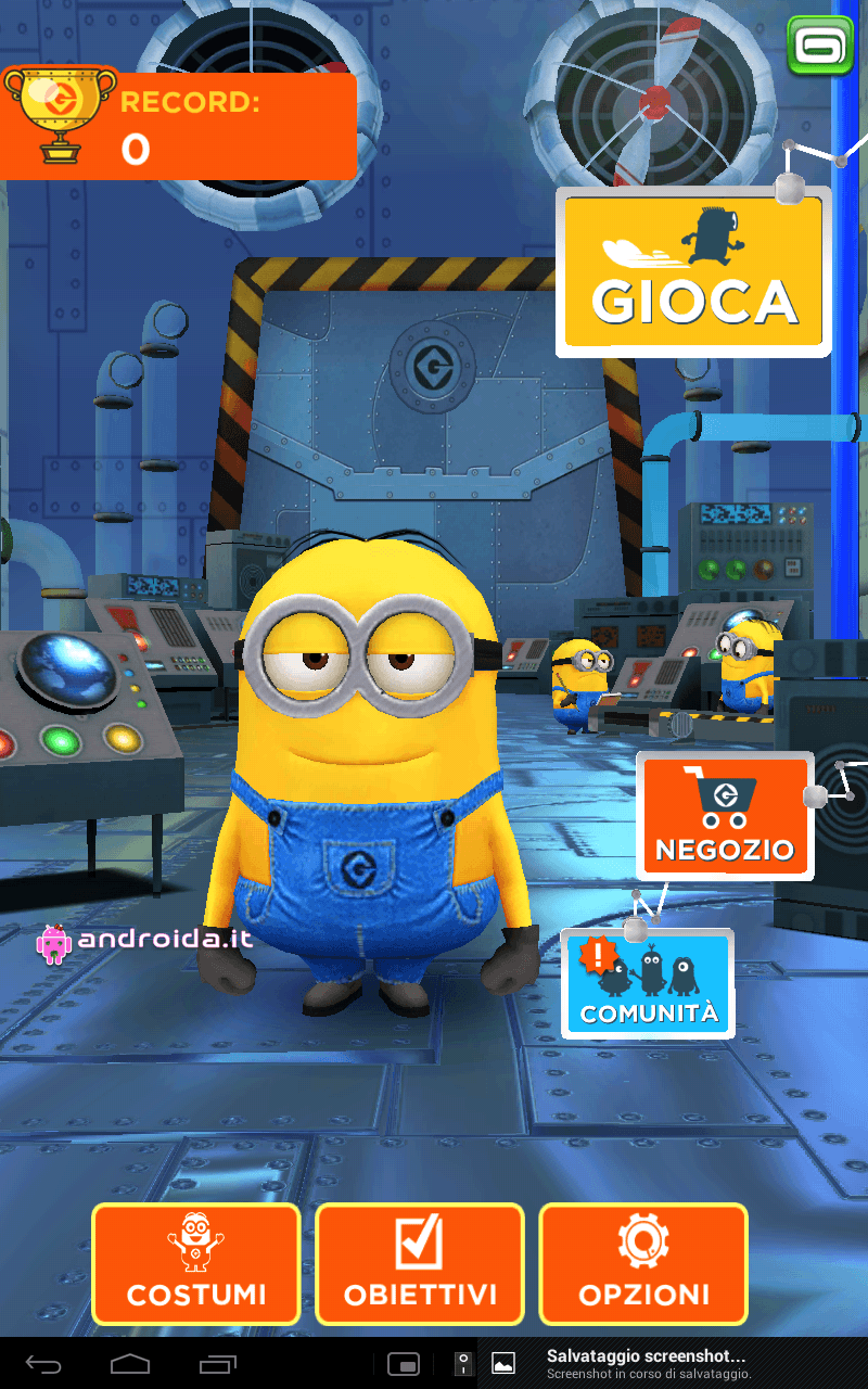 Gameloft Android game Despicable Me u