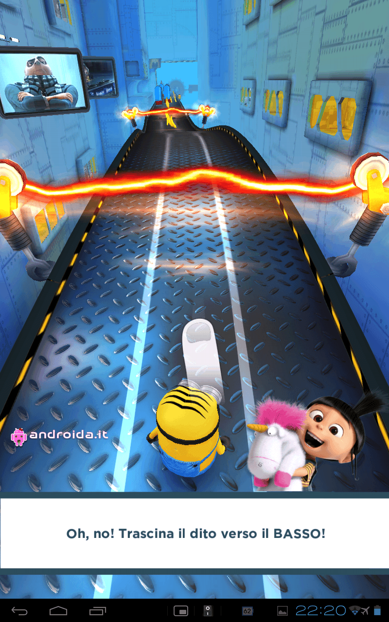 Gameloft Android game Despicable Me k