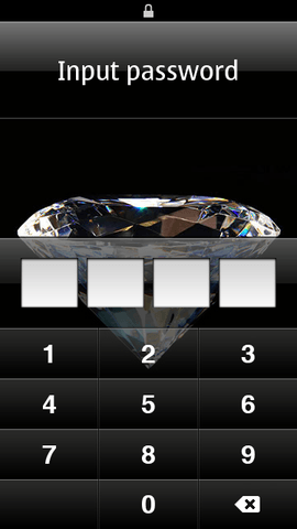 Number Lock on the Nokia C7 - a real guardian of the!