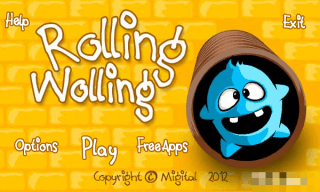 Game: Rolling Wolling Free Nokia S60v5, Symbian^3