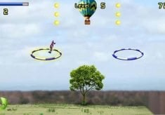 Game: Ring Pilot - aerobatics in a small plane Nokia Symbian^3, S^1