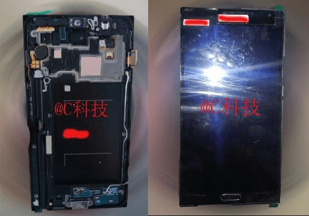"The prototype Galaxy Note 3 to the photo showed their ""insides"""
