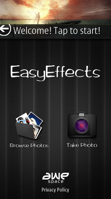 Easy Effects for Nokia C7 - Fast image processing