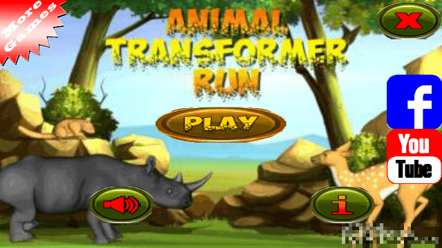 Game: Animal Transformer Run Nokia S60v5, Symbian^3