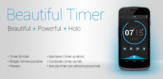 Beautiful timer here is a new and interesting timer for Android