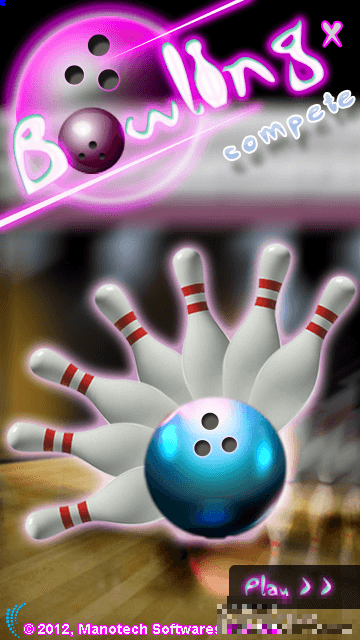 Game: Bowling For Nokia S60v5, Symbian^3
