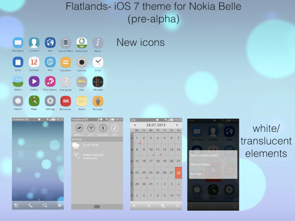 Flatlands by 1theo0BaCkwarDs Theme Symbian Belle