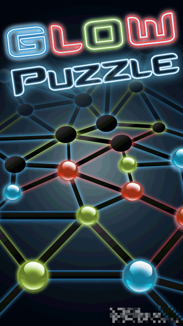 Glow-Puzzle-great-puzzle-for-Nokia Game: Glow Puzzle Nokia S60v5, Symbian^3