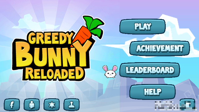 Game: Greedy Bunny Reloaded Nokia S60v5, Symbian^3