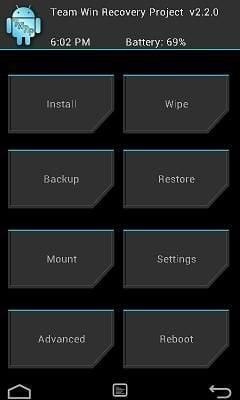 RAsb2 How To Install TWRP Recovery Sony Xperia V LT25