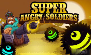 Game: Super Angry Soldiers Nokia S60v5, Symbian^3