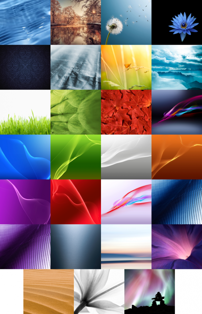 Sony Xperia Z1 Stock Wallpapers For Galaxy S3 and Note 2 Available For Download