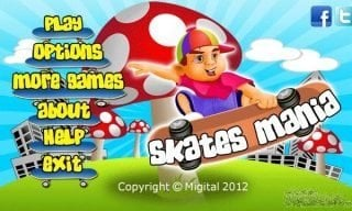 Game: Skates mania Nokia Symbian^3