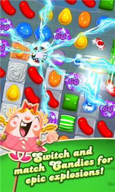 Download Candy Crush Saga for Windows Phone 8.x Microsoft Store