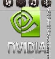 Grayslic Nvida Theme For Nokia S60v5, Symbian^3