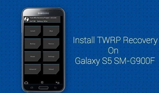 Install TWRP Recovery Galaxy S5 (SM-G900F)