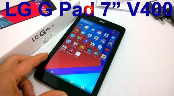 How To Root the LG G PAD 7 v400