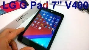 LG G PAD 7 V400 Stock Firmware Flashing