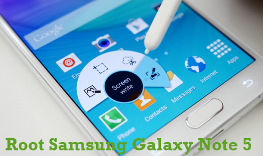 Samsung Galaxy Note 5 to Android 5.1.1 root