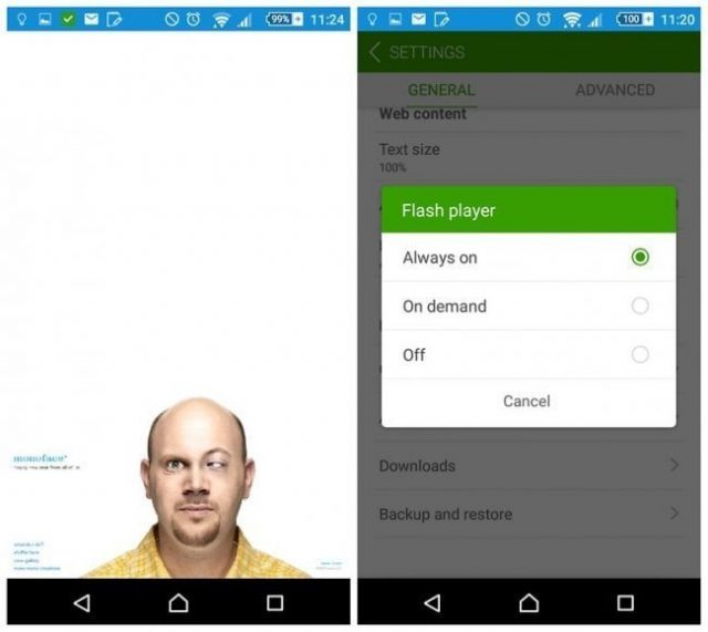 how to install the Flash Player on Android 6 0 Marshmallow