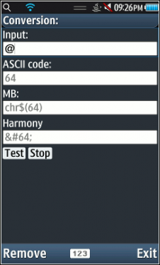 AscII Converter For Nokia Asha Phones