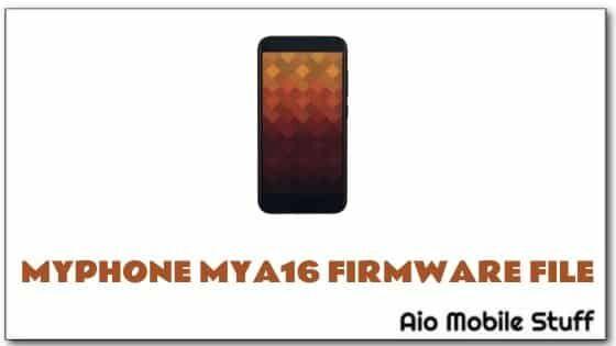 MyPhone MYA16 Firmware