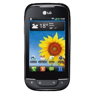 LG Optimus One P500 Android 2.2 Official Firmware Flash Files