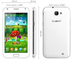 Cubot GT89 MT6589 Android 4.1.2 Stock Rom Flash Files