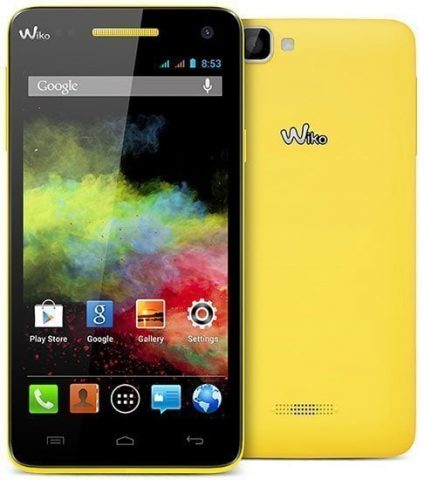 Wiko Rainbow Jam Firmware File