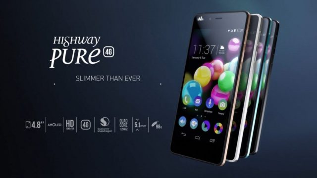 Wiko Highway Pure Firmware File