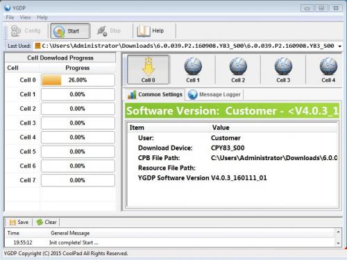 Coolpad E502 Flash Files/ Drivers/Adb/YGD