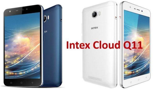 Intex Cloud Q11 Firmware