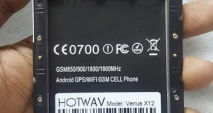 Hotwav Venus X12 Sc7731 Firmware Flash Files