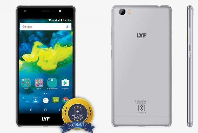 LYF Water F1S LS-5201 Official Firmware Flash Files