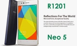 Oppo Neo 5 R1201 MT6582 Official Firmware Flash Files