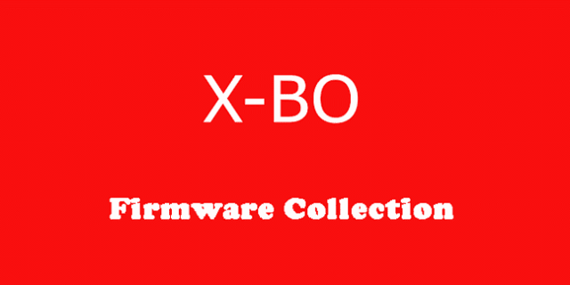 XBO O8 MT6580 Official Stock Firmware SP Flash Tool Files
