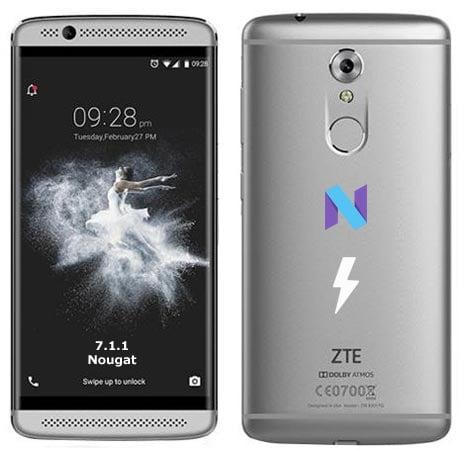ZTE Axon 7 Mini Nougat 7.1.1 Official Stock Firmware OTA Update