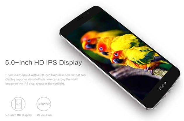 Zopo Hero 1 Official Stock Firmware SP Flash Tool Files