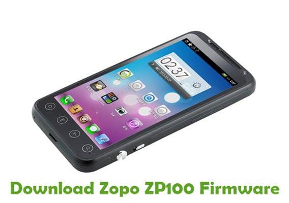 Zopo ZP100 Stock Firmware Flash Files