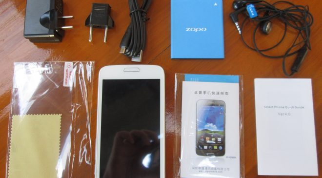 Zopo ZP900S Official Firmware Flash Files