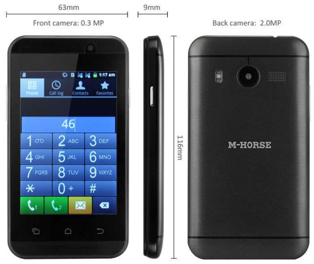 M-Horse M8 SC6820 Android 2.3.5 Official Firmware Flash Files